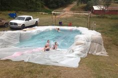 Hay Bale Pool  - The next Robinson Road Project