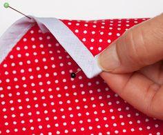 Tolle Anleitung zum Annähen von Schrägband