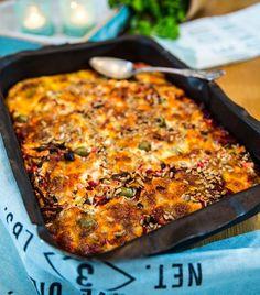 Vegetarisk rödbetsgratäng Vegetarian Recepies, Vegetarian Paleo, Raw Food Recipes, Veggie Recipes, Cake Recipes, Snack Recipes, Beginner Vegetarian, Gratin, Swedish Recipes