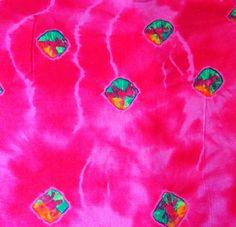 YARDAGE Indian cotton fabric for crafting by ChezviesSupplies