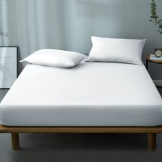 Bentley Bamboo Mattress Protector - Online Only Keep your mattress in sublime condition with Bentley, a waterproof mattress protector which is anti-bacterial, breathable, washable - and prevents dust mites. Pillow Top Mattress, Queen Mattress, Queen Size Bedding, Most Comfortable Bed, Wooden Shoe Racks, King Size Quilt, Mattress Protector, Dust Mites, King Beds