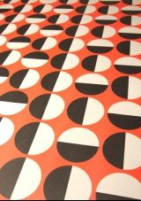 Red/Black Wrapping Paper Grafika designed by 1973 Graphic Patterns, Textile Patterns, Print Patterns, Textiles, Geometric Patterns, Retro Pattern, Pattern Art, Pattern Design, Shape Design