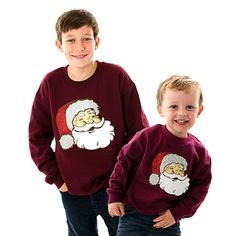 Sparkle Childrens Christmas Sweatshirts by Cheesy Christmas Jumpers #christmas #jumpers #sweaters #xmas