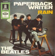 "The Beatles - ""Rain""~Writers: John Lennon, Paul McCartney, Released: June Beatles Album Covers, Beatles Albums, Beatles Photos, The Beatles Rain, Les Beatles, Beatles Band, Rock & Pop, Rock And Roll, Paul Mccartney"