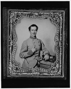 [Bernard Bluecher Graves, Corp., C.S.A., three-quarter length portrait, seated, facing front]