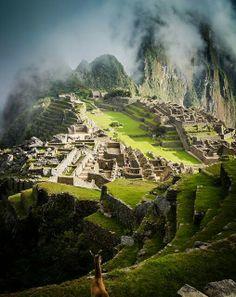 Machu Picchu - Perù, una vista extraordinaria #viajes #Perú