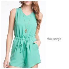 Never under estimate the power of a good outfit on a bad day! #dressmingle #jade #romper #nobrainer #ootd