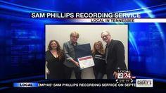 Memphis' Sam Phillips Recording Service Recognized By