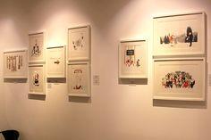"""Exposición """"Caza de Conejos"""" de Sonia Pulido en La Fiambrera de Madrid. Ilustración #Arterecord 2015 https://twitter.com/arterecord"""