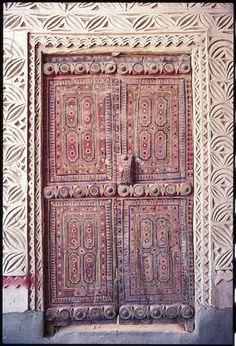 Saudi Wood Door