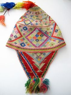 Peru, 1995 to 1996, A knitted Chullos hat