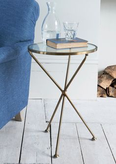 Slim Side Table, Side Tables, Flower Arranging Courses, Edwardian House, Welcome To My House, Concept Board, Modern Bedroom, Industrial Style, Home Furniture