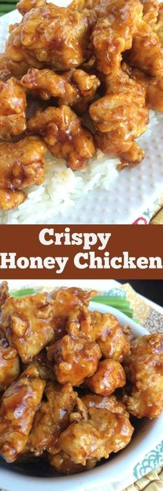 Crispy Honey Chicken - Together as Family #chinesefoodrecipes