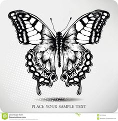 """Find """"butterfly drawing"""" stock images in HD and millions of other royalty-free stock photos, illustrations and vectors in the Shutterstock collection. Monarch Butterfly Tattoo, Butterfly Mandala, Butterfly Drawing, Vintage Butterfly Tattoo, Butterfly Black And White, Blue Butterfly, Borboleta Tattoo, Natur Tattoos, Hand Tats"""