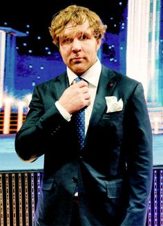 Dean Ambrose Looking Good In A Suit