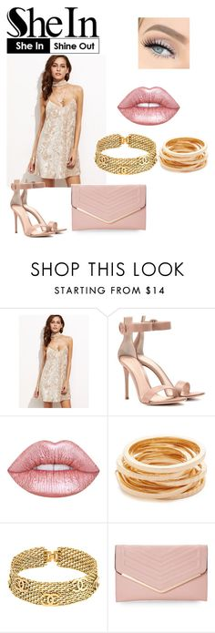 """""""Untitled #171"""" by medik02 on Polyvore featuring Gianvito Rossi, Lime Crime, Kenneth Jay Lane, Chanel, Sasha and Sheinside"""