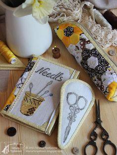 Каморка мамы Тани: Комплект рукодельных принадлежностей