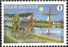 Summer Stamp 2008 -  Cycling