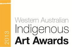 If you're near Perth in the next few months, coming up soon: the Western Australian Indigenous Art Awards. Exhibition from 23 August at the Art Gallery of Western Australia