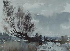 The Flooded Marsh. Edward Seago