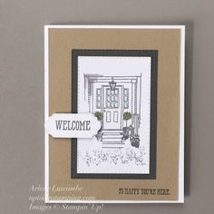 Uptown Stamping: So Appropriate March 2020 Paper Pumpkin So Happy, Happy New Home, Cute Miss You, Miss Your Face, New Home Cards, Stampin Up Paper Pumpkin, Envelope Liners, Stamping Up, Diy Cards