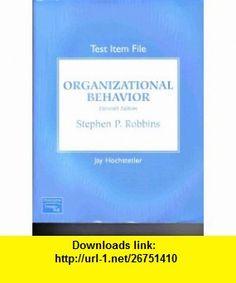 Organizational behavior 12th edition book cd rom 9780131890954 organizational behavior test item file 9780131855908 stephen p robbins jay hochstetler isbn fandeluxe Image collections