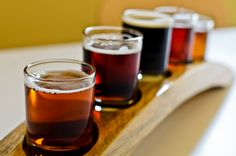 Fort Collins Brewery Tasters