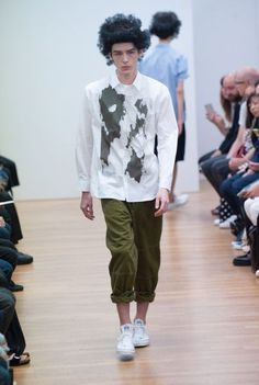 Comme des Garcons Shirt Spring/Summer 2016 Menswear Collection 37