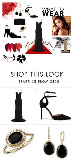 """""""RED CARPET"""" by mrs305aka ❤ liked on Polyvore featuring STELLA McCARTNEY, Avon, Sergio Rossi, Blue Nile and Effy Jewelry"""