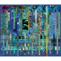 collage #blue #teal #collage #art