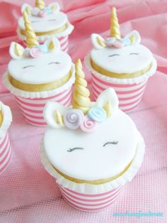 zuccherofondente: Unicorn Cupcakes