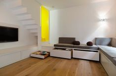 Stair Case Study House 01 by Gerd Streng, seating furniture