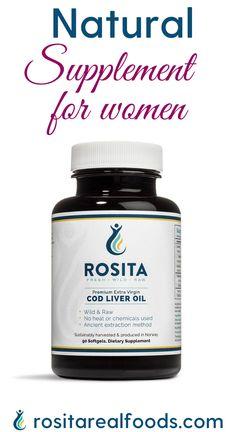 Natural Supplement, Natural Vitamins for Women, Premium Extra Virgin Cod Liver Oil Vitamins and Supplement #vitamins #fishoil #codliveroil #fishoilbenefits #supplements #vitalminsupplement #healthy #omega3 #omega3oil