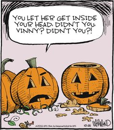 Today on Reality Check - Comics by Dave Whamond Cartoon Jokes, Funny Cartoons, Funny Comics, Funny Jokes, Hilarious, Halloween Cartoons, Happy Halloween, Halloween Humor, Halloween Images