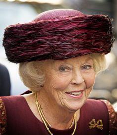 Princess Beatrix of the Netherlands at the Max van der Stoel Award.