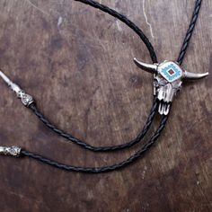 By the Horns Bolo Tie from Child of Wild