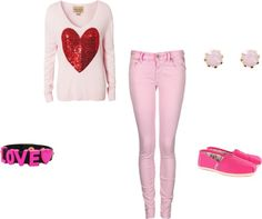 """Pink"" by blancoyocasta ❤ liked on Polyvore"
