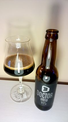 RIS beer #russianimperialstout Doctor Brew