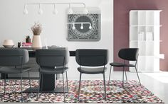 Leather chair CLAIRE M - Calligaris CS/1483-SK