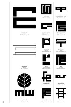Logo Modernism, a new Taschen book out next month by German graphic designer Jens Müller, is a brilliant catalog of trademarks from Typography Logo, Logo Branding, Typography Design, Branding Design, Brand Identity, Monogram Logo, Logo Design Inspiration, Icon Design, Ad Design