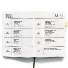 simple bullet journal idea