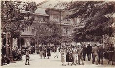 Plaza de Armas, 1930. Aporte de@alb0black. Stgo adicto.