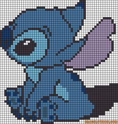 Cross stitch pattern Lilo & Stitch