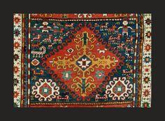"""Antique Karabagh """"Kasim Ushag"""" carpet"""