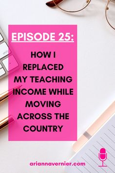 Becoming a work at home mom doesn't just have to be a dream. You can quit teaching for good and get started making money from home TODAY. On this episode of the Ditch the Classroom podcast, I'm sharing how I was able to replace my teaching income with my new virtual assistant business while moving across the country. If you're ready to ditch the classroom for good, spend more time with your kids, and become a freelancer and/or virtual assistant while working from home, then this is for you. Work From Home Tips, Make Money From Home, Make Money Online, How To Make Money, How To Become, Flexible Working, Online Work, Virtual Assistant, To Focus