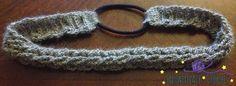 Silver Lining Headband free crochet pattern