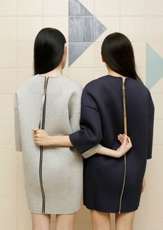 Zipped sisters