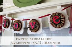 Simple and fun idea for Valentine's Day! (Beautiful and easily adaptable to a variety of parties)