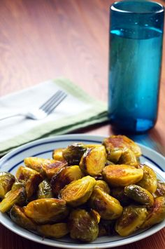 Simple Roasted Brussels Sprouts (Paleo, Gluten-free)