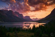 St. Mary's Glacier Lake